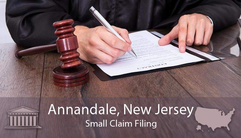 Annandale, New Jersey Small Claim Filing
