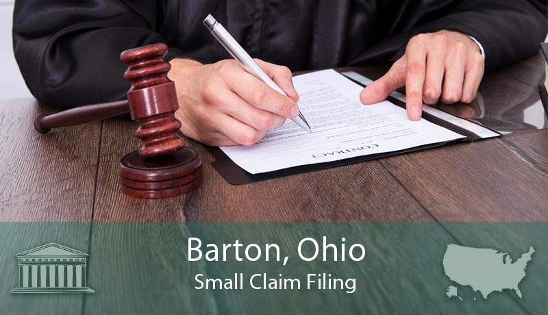 Barton, Ohio Small Claim Filing