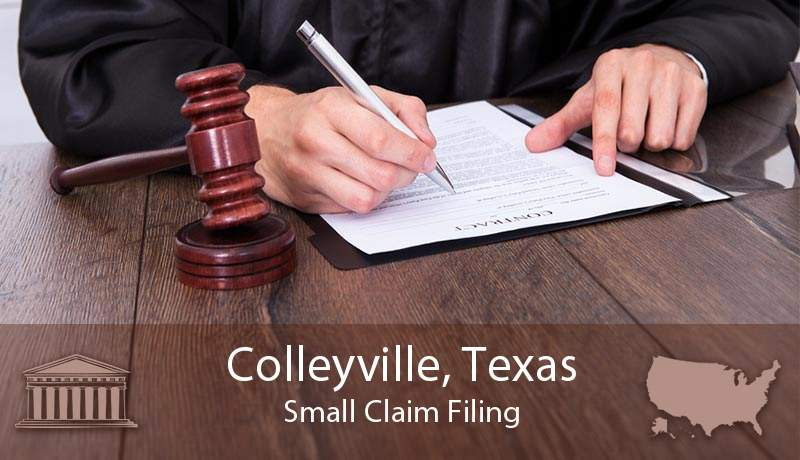 Colleyville, Texas Small Claim Filing