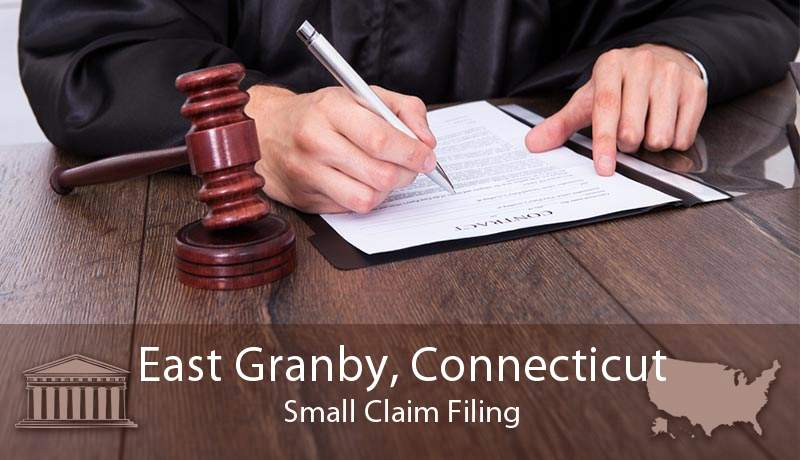 East Granby, Connecticut Small Claim Filing