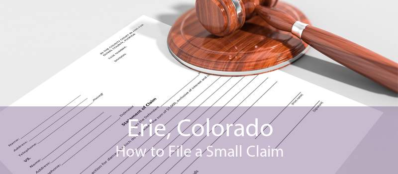 how to file small claims in colorado