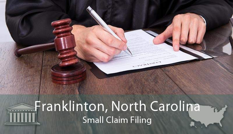 Franklinton, North Carolina Small Claim Filing