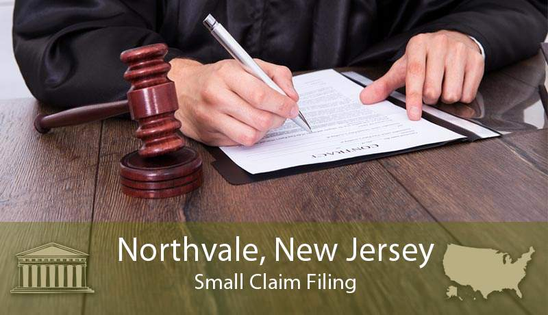 Northvale, New Jersey Small Claim Filing
