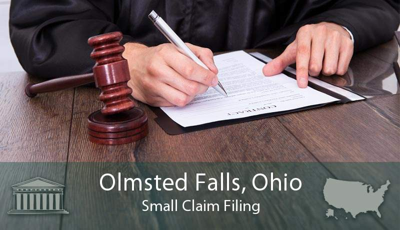 Olmsted Falls, Ohio Small Claim Filing