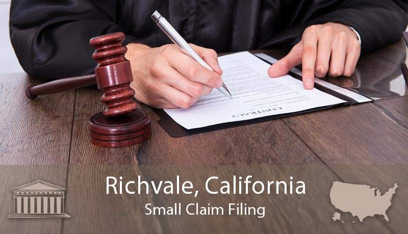 Richvale, California Small Claim Filing