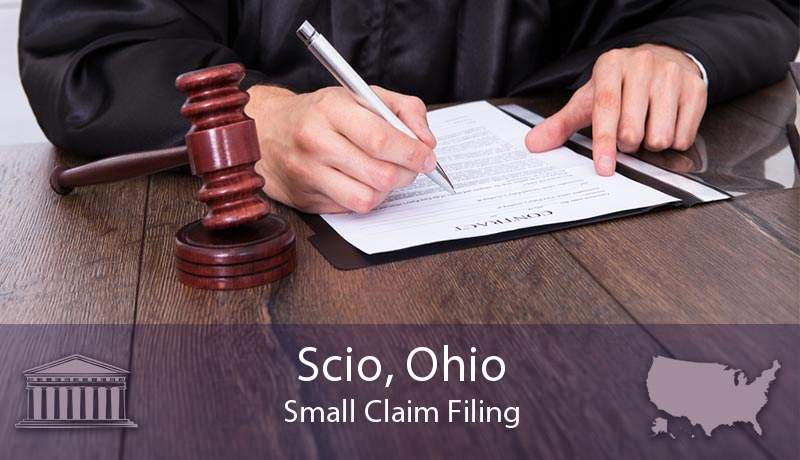 Scio, Ohio Small Claim Filing