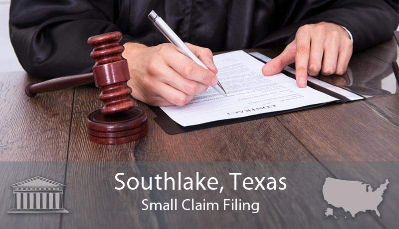 Southlake, Texas Small Claim Filing