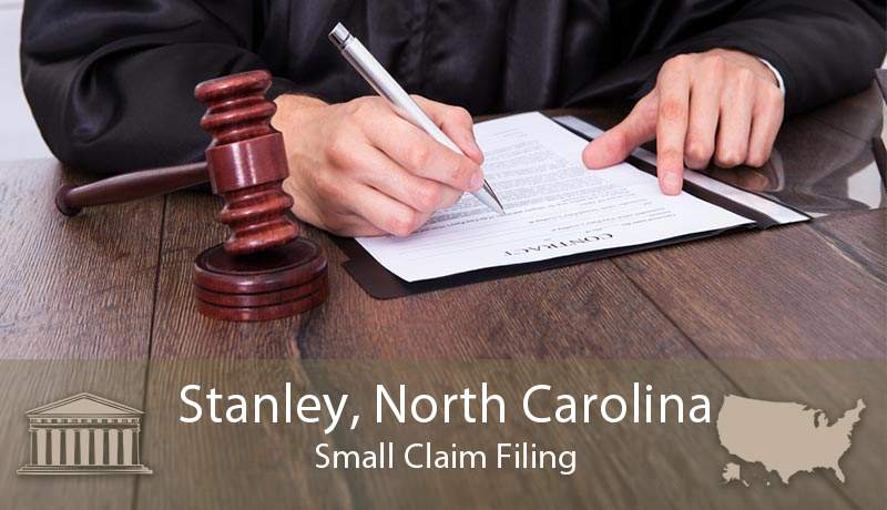 Stanley, North Carolina Small Claim Filing