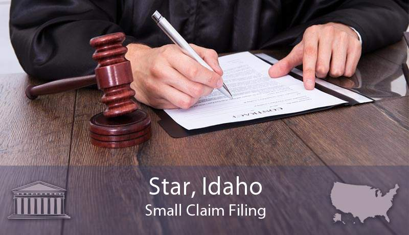 Star, Idaho Small Claim Filing