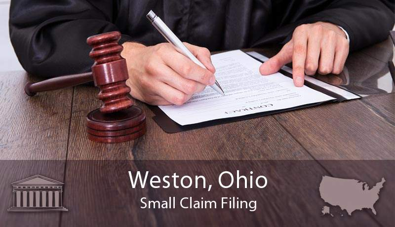 Weston, Ohio Small Claim Filing