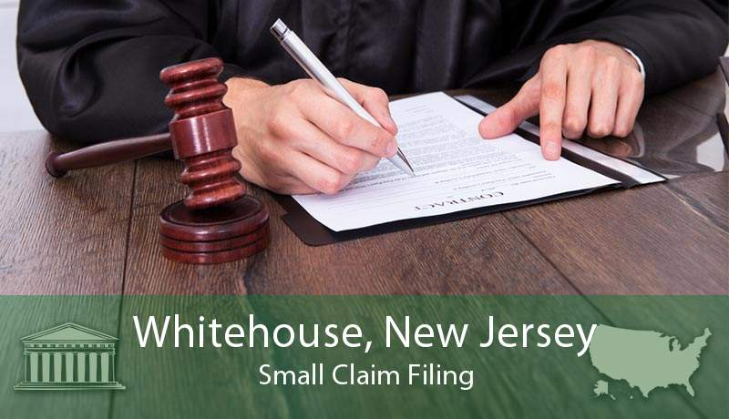Whitehouse, New Jersey Small Claim Filing