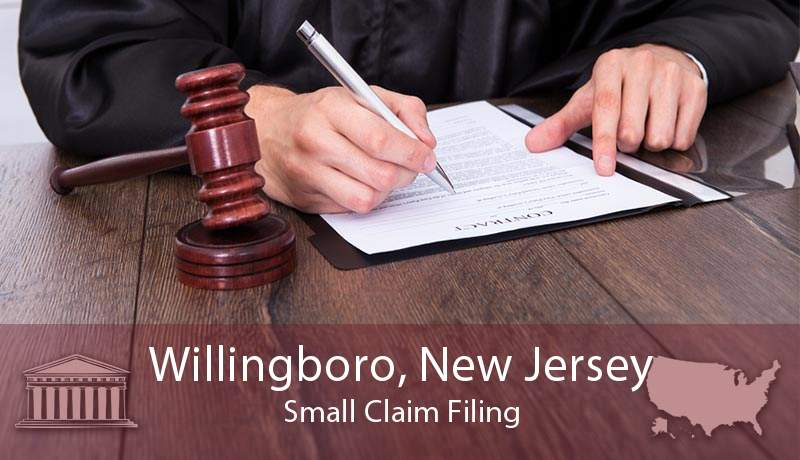 Willingboro, New Jersey Small Claim Filing